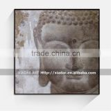 Decor acrylic buddha painting/ canvas painting of lord buddha SHU143