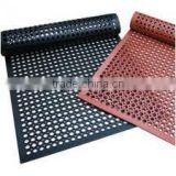 Anti-slip and anti-fatigue interlocking porous rubber mat /kitchen mat/Rubber anti-fatigue MATS