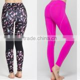 Yoga Clothing Organic Cotton Fabric Women Leggings &Yoga Pants -