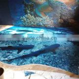 3D Floor Tiles Standard Size for High Decorative Glossy Epoxy Resin Floor                                                                         Quality Choice