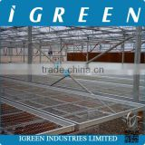 Commercial greenhouse seeding bench