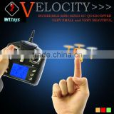 New Mini V272 2.4G 4CH Gyro WL Toys RC Quadcopter With V911 Remote Control LED RC 6-Axis Gyroscope Aircraft UFO VS CX-10