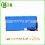 14.4V 5200mAh replacement battery for COMEN CM-1200A CM1200A ICR18650 Ecg Machines Biomedical Medic Battery