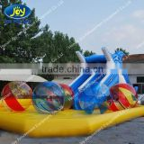 PVC Rould Plastic Inflatable Crazy Water Balloons