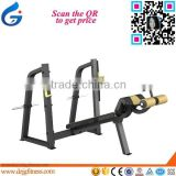 JG-1639 Professional free weight Commercial Fitness Equipment /Gym machine/ Olympic Decline Bench