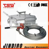 2015 CE APPROVED Model LJ 0.8t ~ 5.4t Aluminum Body Wire Rope Pulling Hoist / Cable Pulling Winch / Wire Rope winch