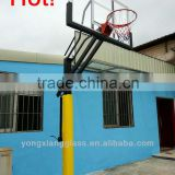 height adjustablebasketball goal posts,steel basketball hoop