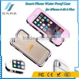 5.5 Inch Smart Phone Water Proof Case for iPhone 6 6S 6 Plus Case Cover With Fingerprint Touch ID