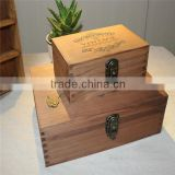 classical wedding dress storage box wooden box wooden packaging wholesale