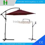 2016 high quality banana canopy umbrella outdoor automatic patio umbrella