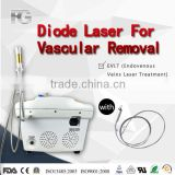 2015 China newest technology diode laser 980nm machine / laser vascular vein removal / 980nml aser vein removal machine for sale