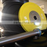 olympic competition weight lifting bar/olympic bumper plates/crossfit package equipments