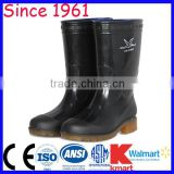 Good Price and Best Quality Black color PVC Rubber Boots for Food Industry Acid Resistant Alkali resistant Rubber Boots