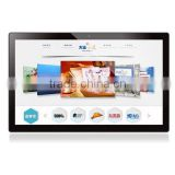 Android digital signage,18.5 inch All-In-One computer monitor support keyboard & mouse for commercial advertising display