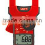 Digital Clamp Multimeter, AC/DC/Resistance/Frequency/Temperature Meter, True RMS, 1000A, UT208