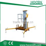 For Aerial Working Maintenance Platform Mast Hydraulic Electric Small One Man Lift Elevator