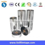 Flexible insulation film Aluminum PET Laminate Tape for Flexible Air Duct Materials