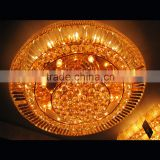 Crystal ceiling flush mount lights