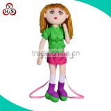 hot sale factory american girl doll plush stuffed girl doll wholesale