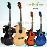 "40 "" low price colorful plastic acoustic guitar"