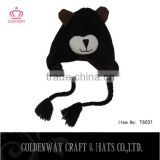 brown bear animal hats knitted crochet hats top selling