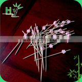 Best selling durable beautiful bamboo fruit picks
