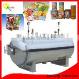 Automatic High Pressure Small Retort Machine For Meat, Canned Food, Dairy Food