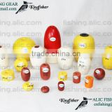 many sizes of fishing floats used for all kind of fishing nets