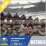 10 - 12 inch bucket chain dredger for sand dredging stable output capacity