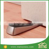 Satin Nickel Door Wedge Rubber Door Stopper