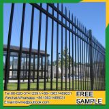 Hot galvanized steel palisade fence designs pvc coated