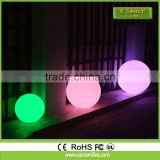 professional supplier waterproof led cube chair lighting luxury leather lounge garden led ball light