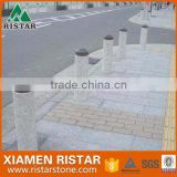 Cheap granite parking stone bollard stone pillars DIS-P014