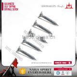 zinc plating drywall screw, self tapping screw, galvanized blue dry wall screw