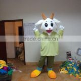 Factory Manufacturer Advertising Adult Wearing Polyfoam Version Asia Sheep Mascot Costume