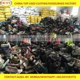 mixed fairly used shoes selling well Africa Angola buyers second hand shoes high quality imported from Dongguan China factory