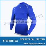 CP-1317 fitness compression shirt, compression shirt for fitness, compression fitness shirt