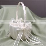 2014 Hot sale beach style flower Girl Baskets Wholesale/Simply Chic Flower Girl Basket