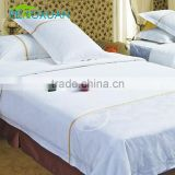 High-quality Hotel Bed Linen Percale 100% Cotton White japanese bed sheets