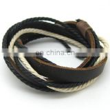 leather bracelet high quality leather bracelets for men braided leather bracelet