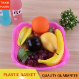 TXA-11 PLASTIC SQUARE FRUIT BASKET STRONG BASKET