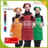 good quality 6.4 oz spun polyester apron with