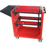 new design collapsible BT 30 BT40 BT50 cnc cutting tool trolley