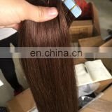 Top grade fast shipping cheap double drawn ombre remy tape hair extensions