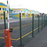 Galvanized Steel Welded Wire Fence Powder Coated Wire Mesh Fence Black Vinyl Coated Wire Fence