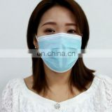 White disposable face mask disposable civilian mask