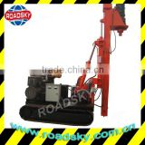 Construction Screw Tracked Drill Rig