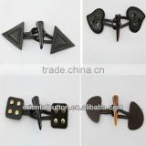 horn toggle buttons for coats