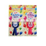Wholesale High Quality Birthday Badge Set
