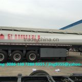 Good quality tri-axle fuel tanker trailers 30000L capacity with 8 compartments on sale in Mauritius